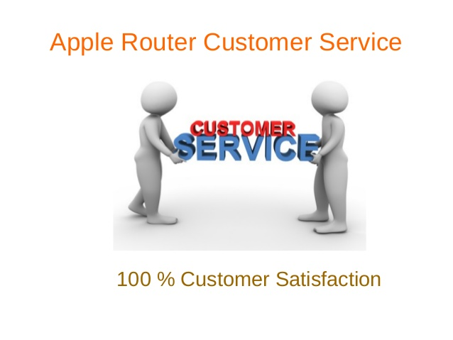 Apple Router Customer Service