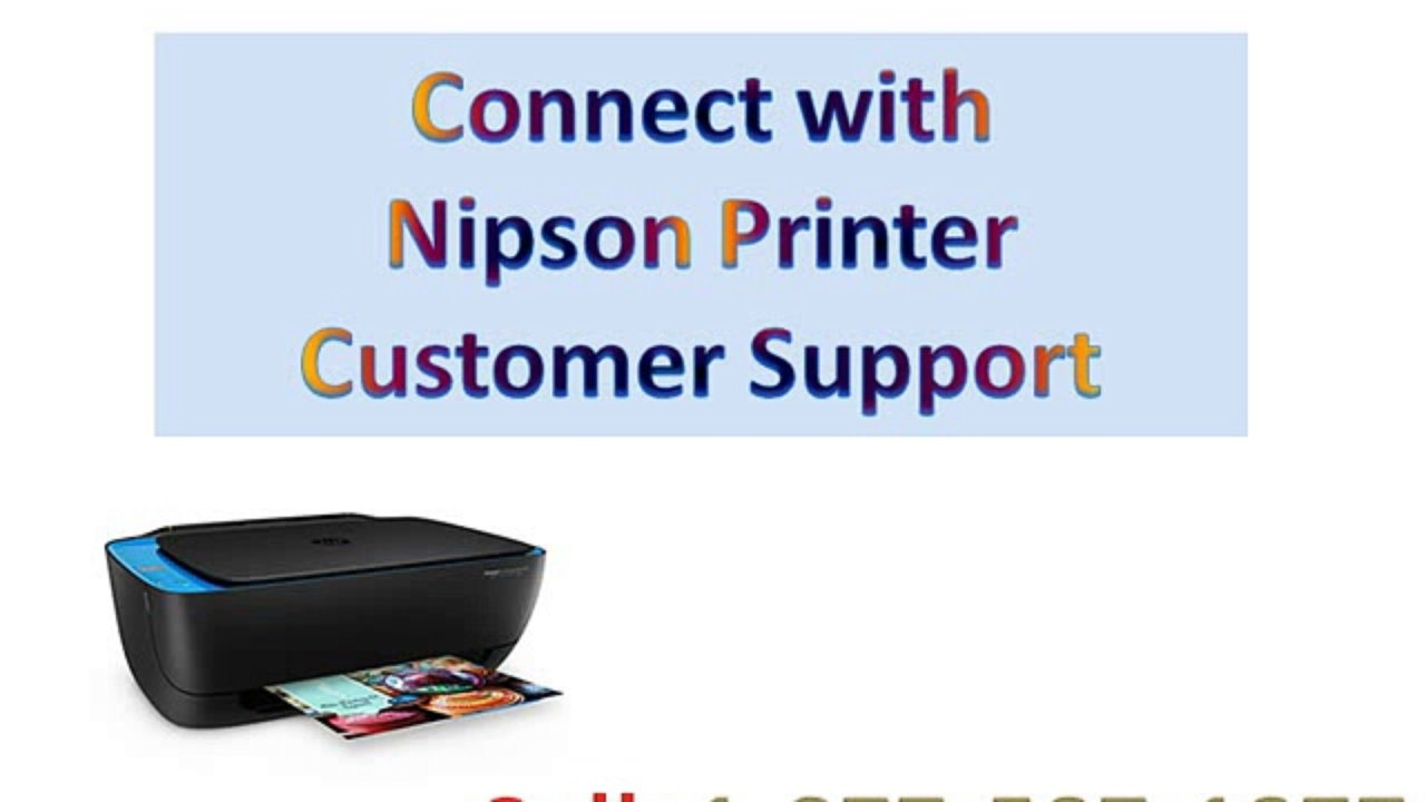 Nipson Printer customer service