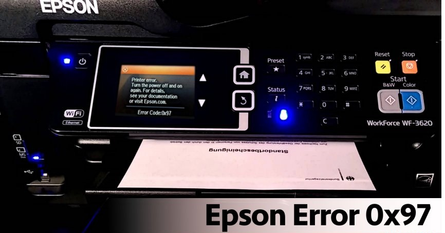 How to Fix Epson Printer Error Code 0x97 | Connect With Baba