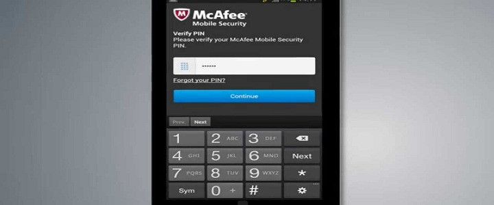 McAfee Locked My Phone