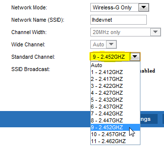 Linksys Router Change Channel