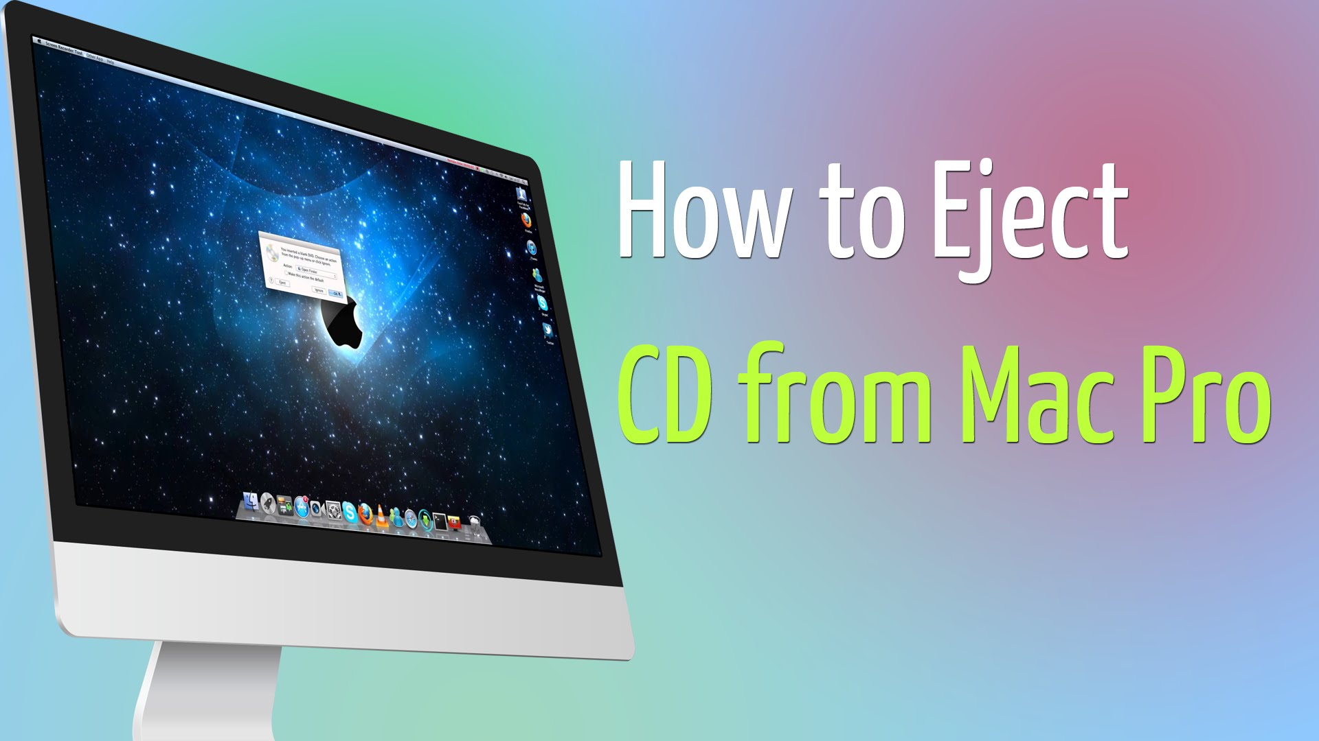 eject cd from mac