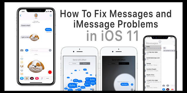 iMessage issues