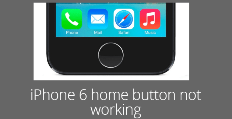 iPhone 6 home button not working