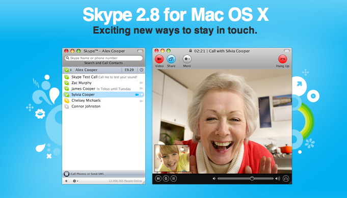 How to use Skype on Mac