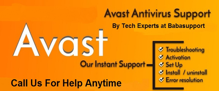 Avast internal server error