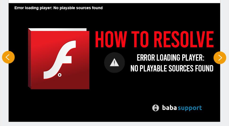 Error-Loading-Player-No-Playable-Sources-Found