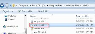 wldcore.dll is missing
